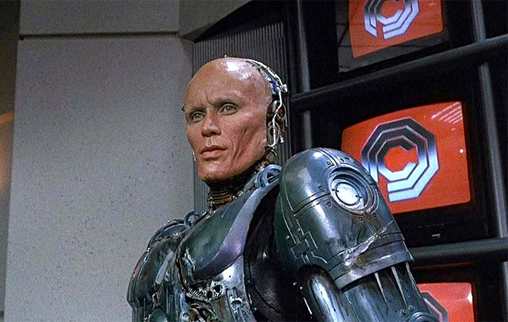 Sci-fi classics like Robocop are talked about