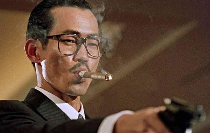 Yuen Wah stars as cigar chomping villain Hua Hsien-Wu