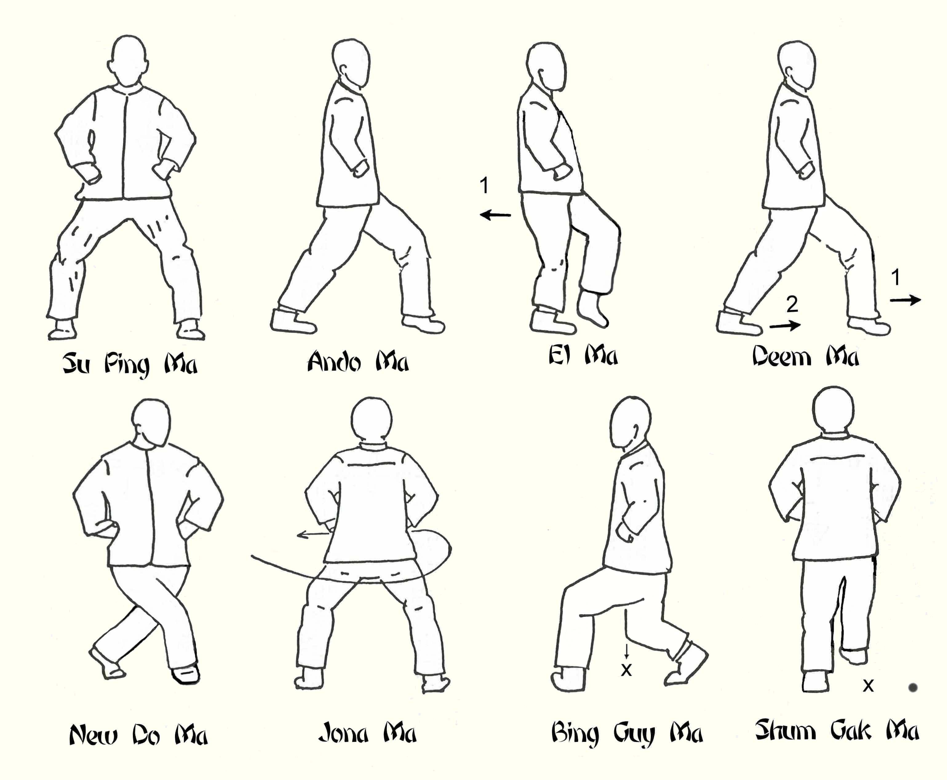 Karate Terms And Stances