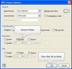 How to save high resolution Microsoft Visio diagrams for online or print outputs | Roughly