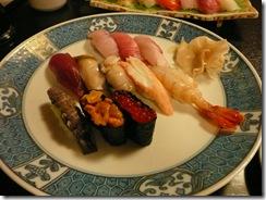 町の おまかせ寿司