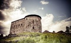 Raaseporin linna on alkujaan rakennettu saarelle
