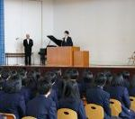 九里学園始業式