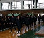 九里学園卒業式