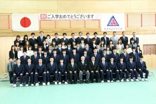 九里学園2017入学式