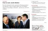 Zeit: Wie Justin Bieber halt.