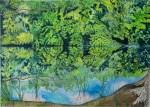 Aquarell vom Altrhein