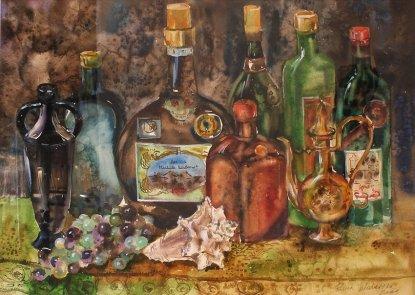 stillleben-mit-flaschen