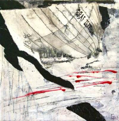 Z21,-Collage-auf-Leinwand,-20x20cm,-2009