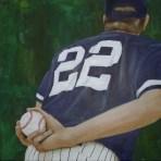 Baseball 1, Yankees Pitcher / Charlotte Schack Steffenhagen
