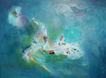 fischend Fliegen fangen I Sabine Marx
