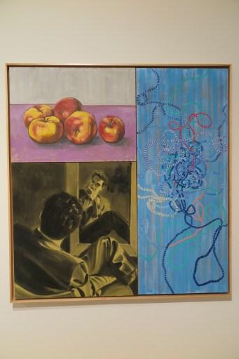 David Salle - Mirror blue, 1998
