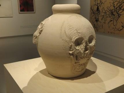 Erik Andriesse - Urn (onvoltooid) - ongeglazuurd steengoed