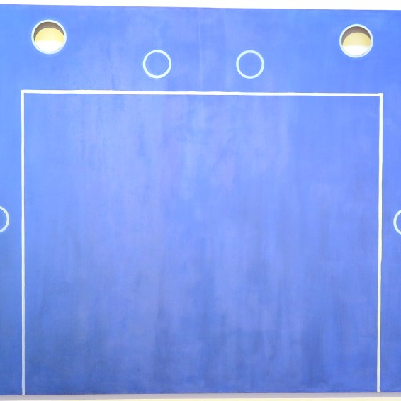 Rob Birza - The blue play, 1990