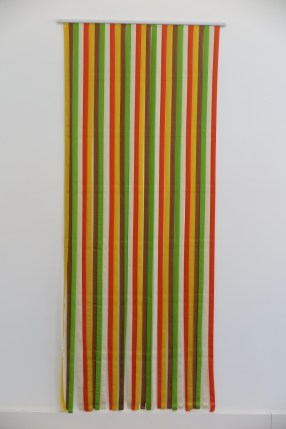 Julian Dashper, Untitled (fly-curtain), 1993