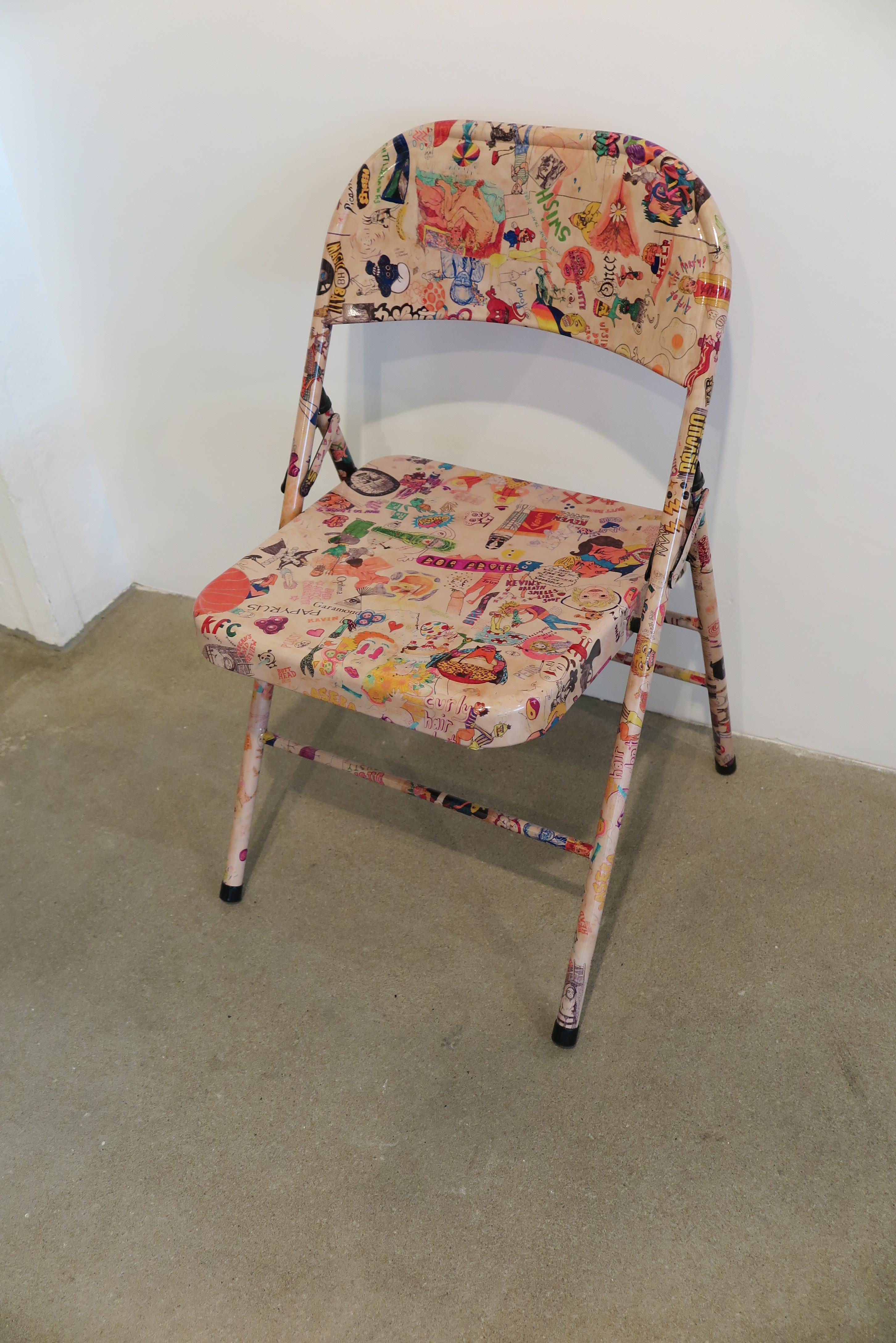 Rob Pruitt - Graffiti Chair