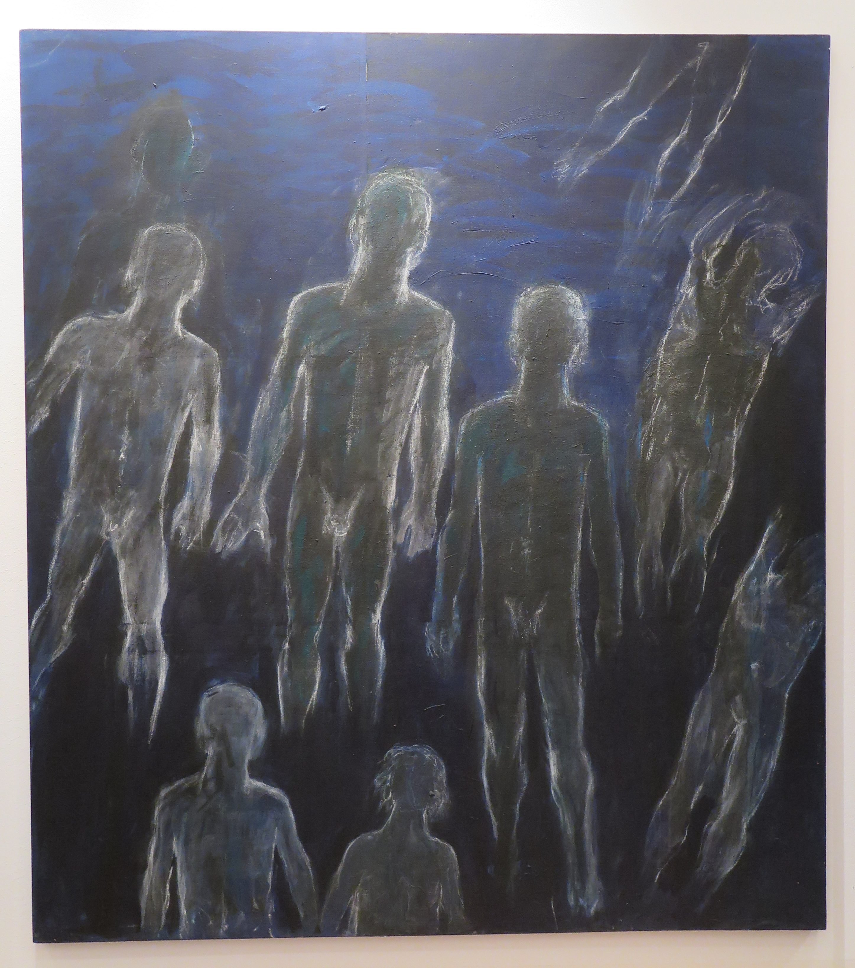 Judit Reigl - Déroulement (phase IV - anthropomorphie) - 2008