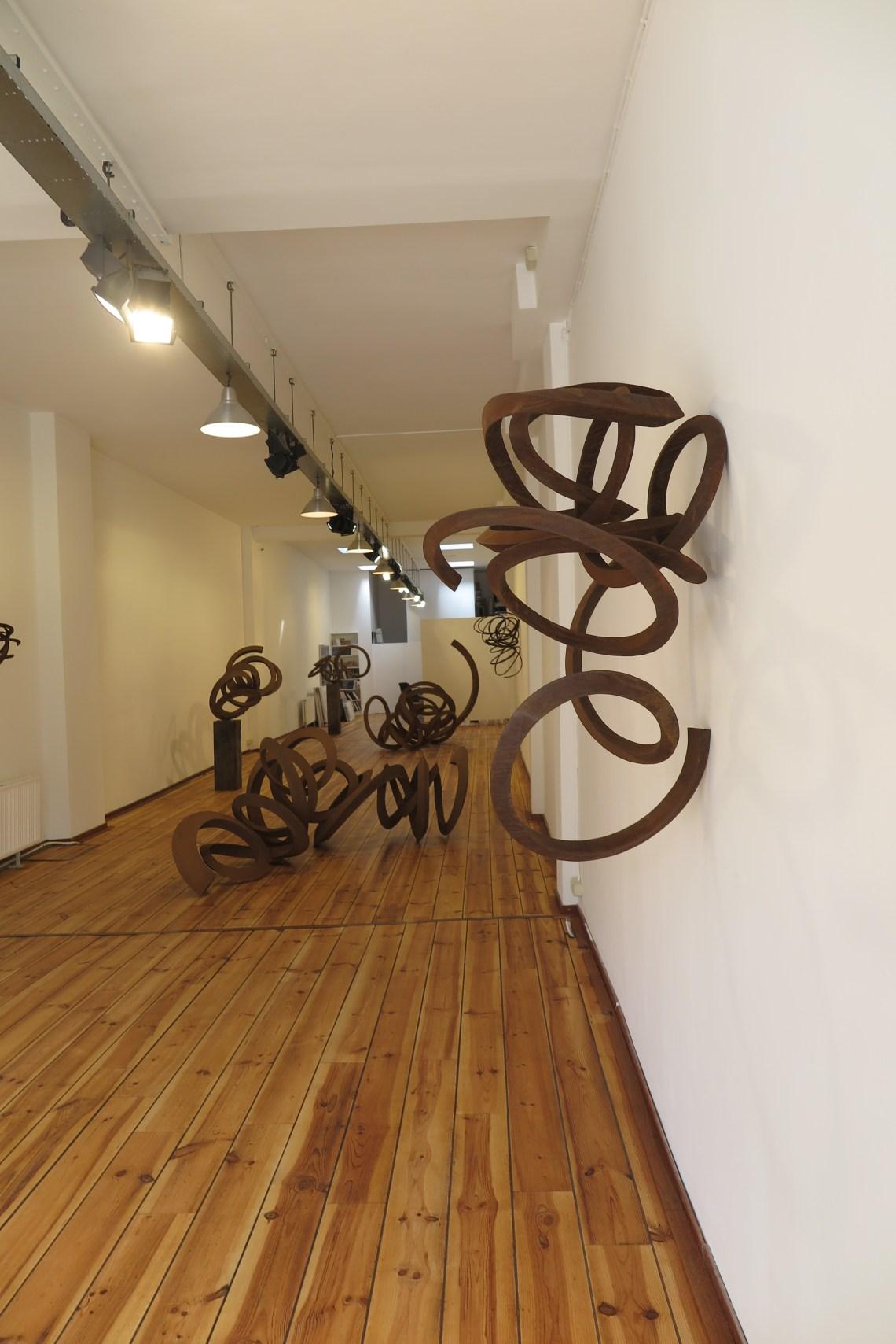 galerie Roger katwijk - overzicht expositie - Salto Mortale - Pieter Obels