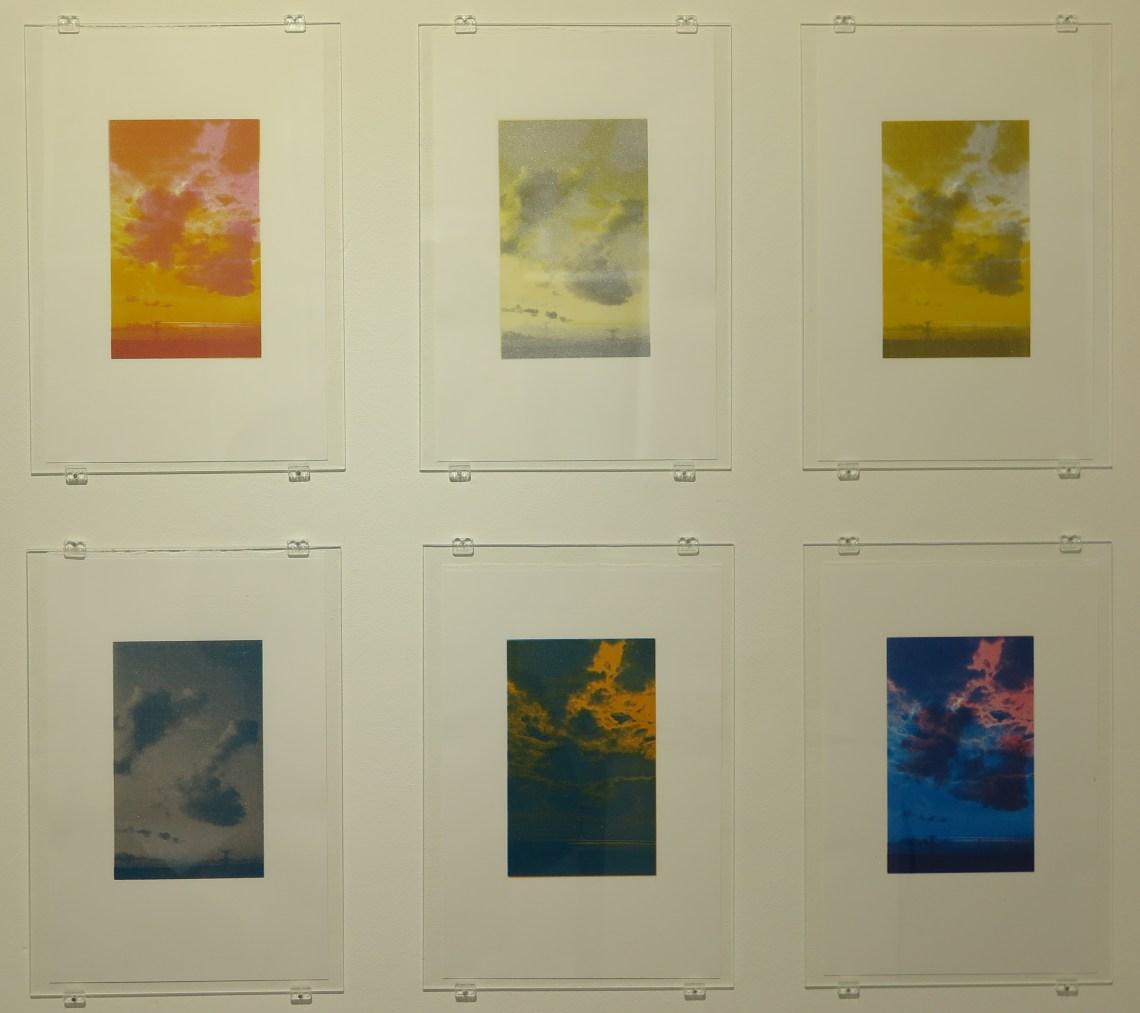 Anna Van Suchtelen - genius loci - serie zeefdrukken