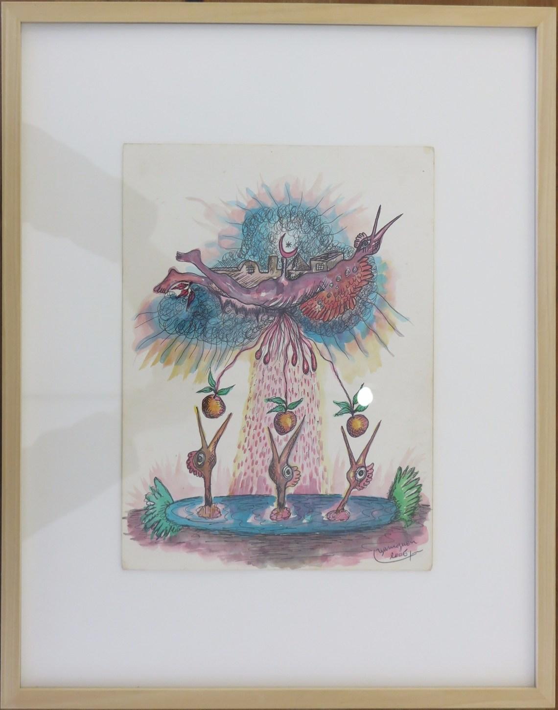 Herve Yamguen - tekening - 2005/6