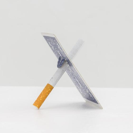 Robin Heyker - Cigarette and cardtrick; kunstenaars-initiatief:Billytown