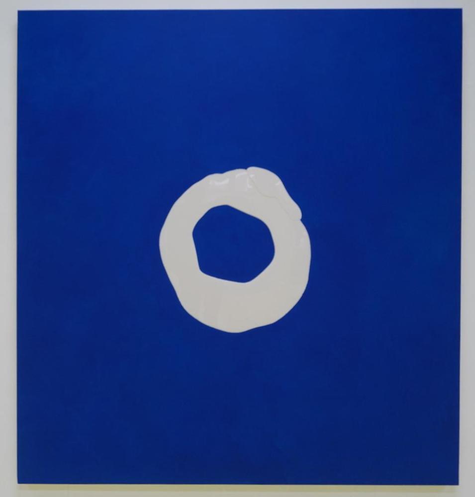Cindy Bakker - Blue car (2020)