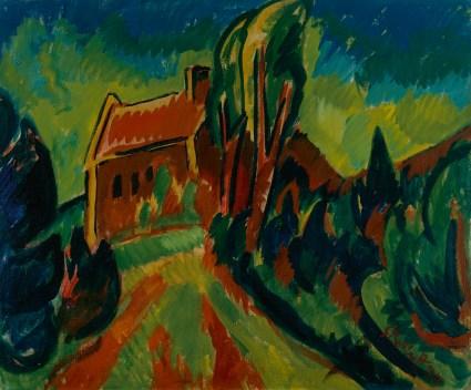 Karl Schmidt-Rottluff - Het rode huis