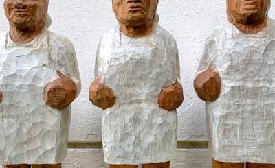 Drei Bergmüller von Johannes Caspersen