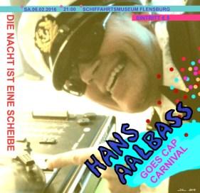 Hans Aalbass Goes Cap Carnival
