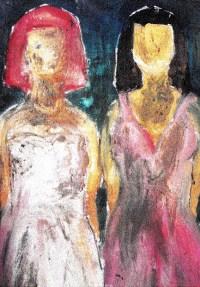 Schneeweißchen & Rosenrot (Detail), 100x143, 1100 €