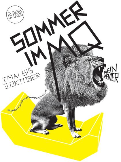 Sommer im MQ