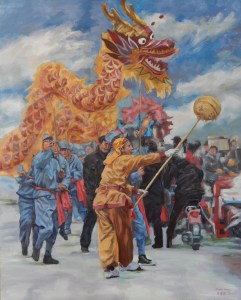 Dragon Dance2-80×100cm