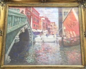 Franz Kienmayer, Venedig, Öl auf HF, 38 x 48 cm