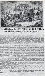 MadameTussaudaffiche1835
