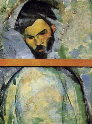 Modigliani_-_Brancusi's_Portrait_(The_Cellist,_verso)
