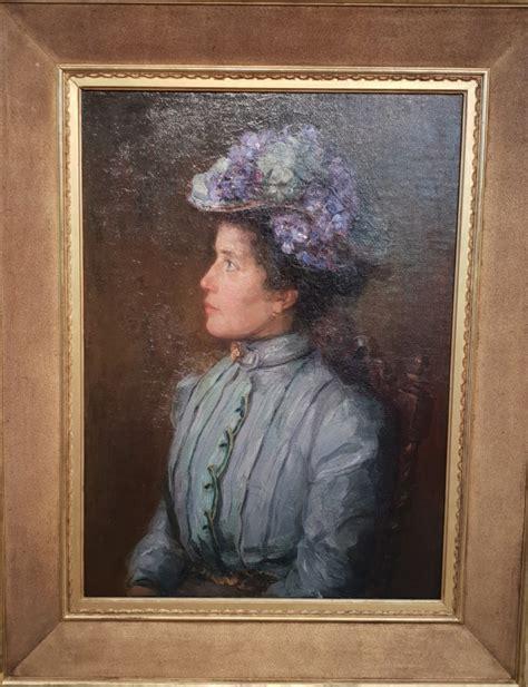 portret Elisabeth Sophia Maria Bergman-Cavalini