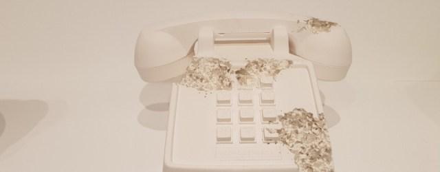 Telephone - Daniel Arsham