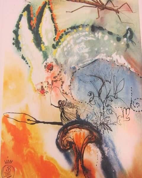 Down the Rabbit Hole - Salvador Dalí