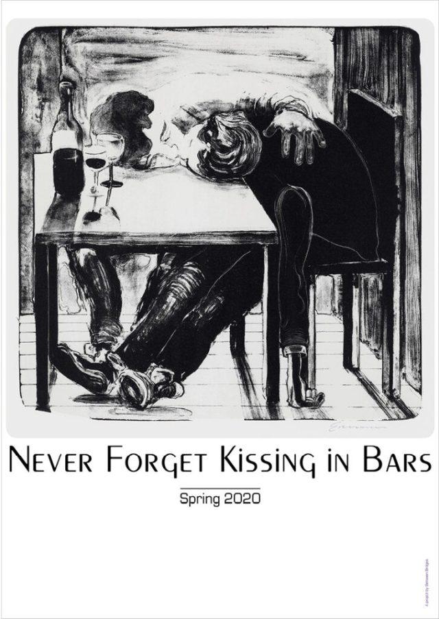 Nicole Eisenman - Never forget kissing in Bars, 2020
