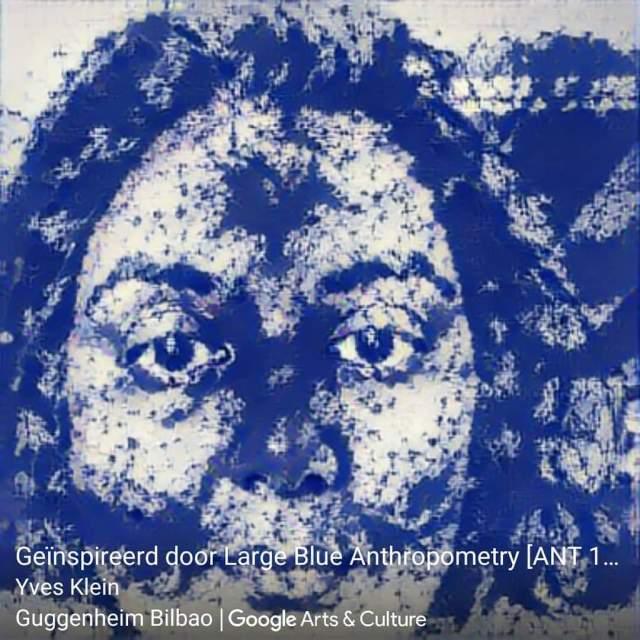 Yves Klein - Art Transfer
