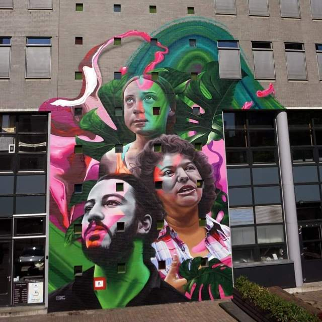 Mural of Change - Den Haag
