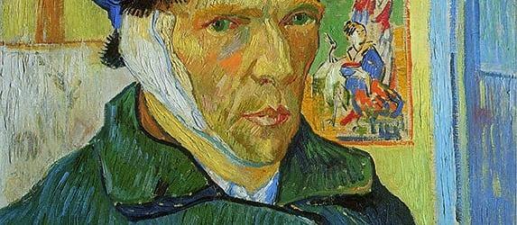 Zelfportret met verbonden Oor - Van Gogh