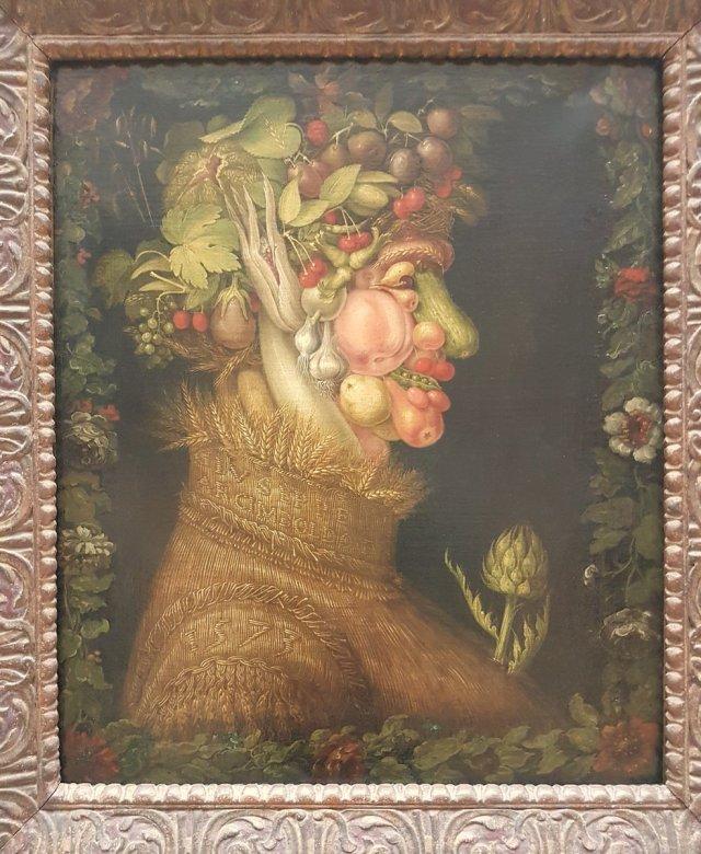 Zomer (1572) van Giusseppe Arcimboldo