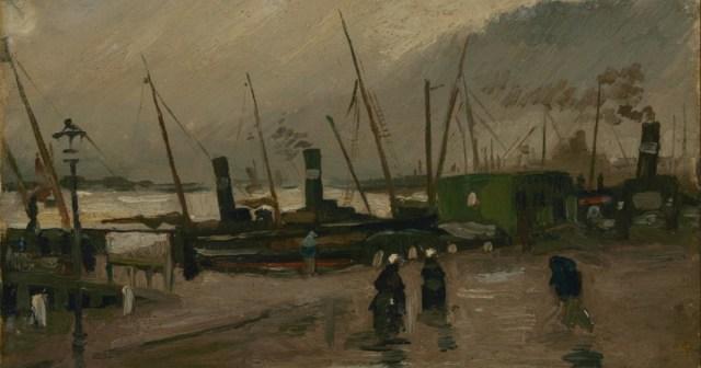 De Ruyterkade - Van Gogh
