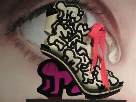 Keith Haring Schoen - Foot Print Momu