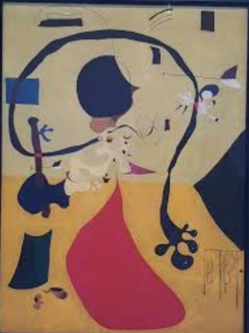 Miró: Intérieur Hollandais (III)/ 1928