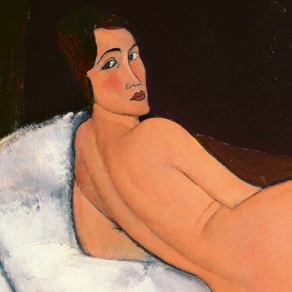 Detail  Nude Modigliani