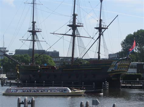 bezoek aan Scheepvaartmuseum