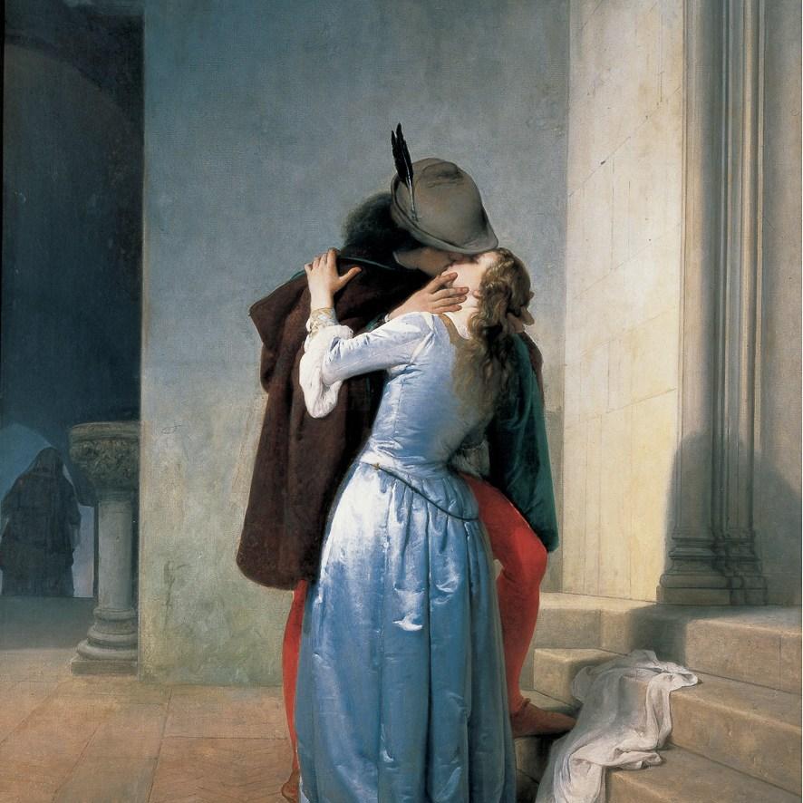 Bacio 1867 - Hayez