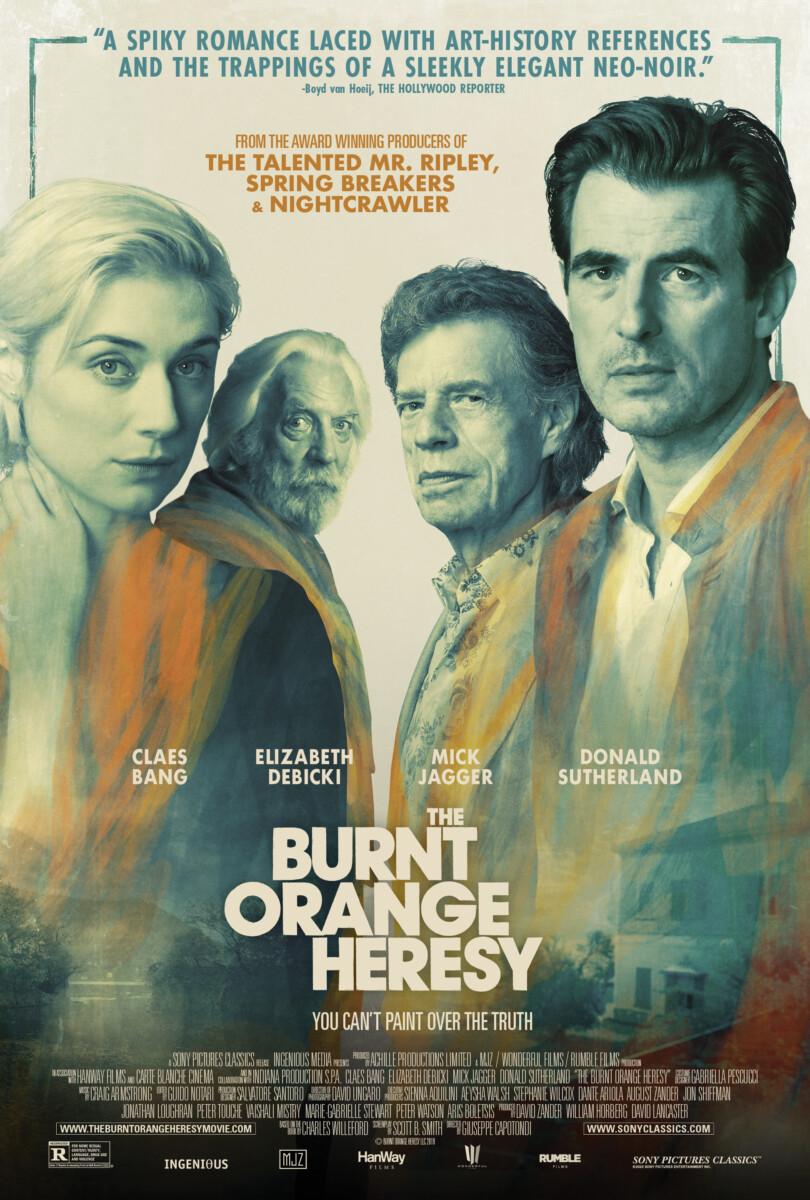 The Burnt Orange Heresy -Giuseppe Capotondi